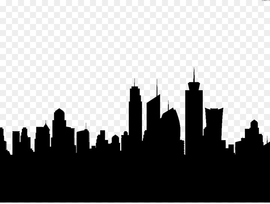 New York City London Silhouette Skyline Clip Art