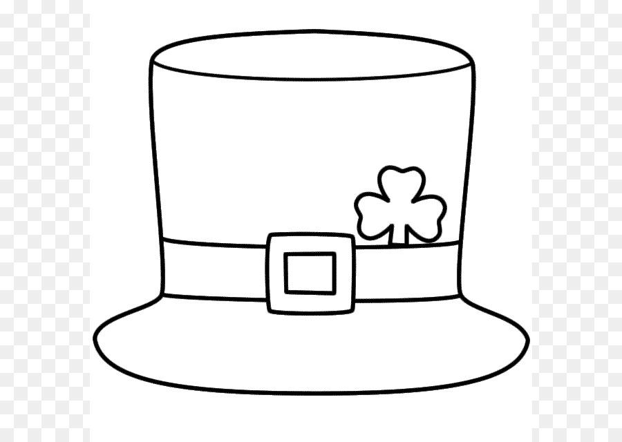 El Día de san Patricio Sombrero de Duende de Trébol de Cuatro hojas ...