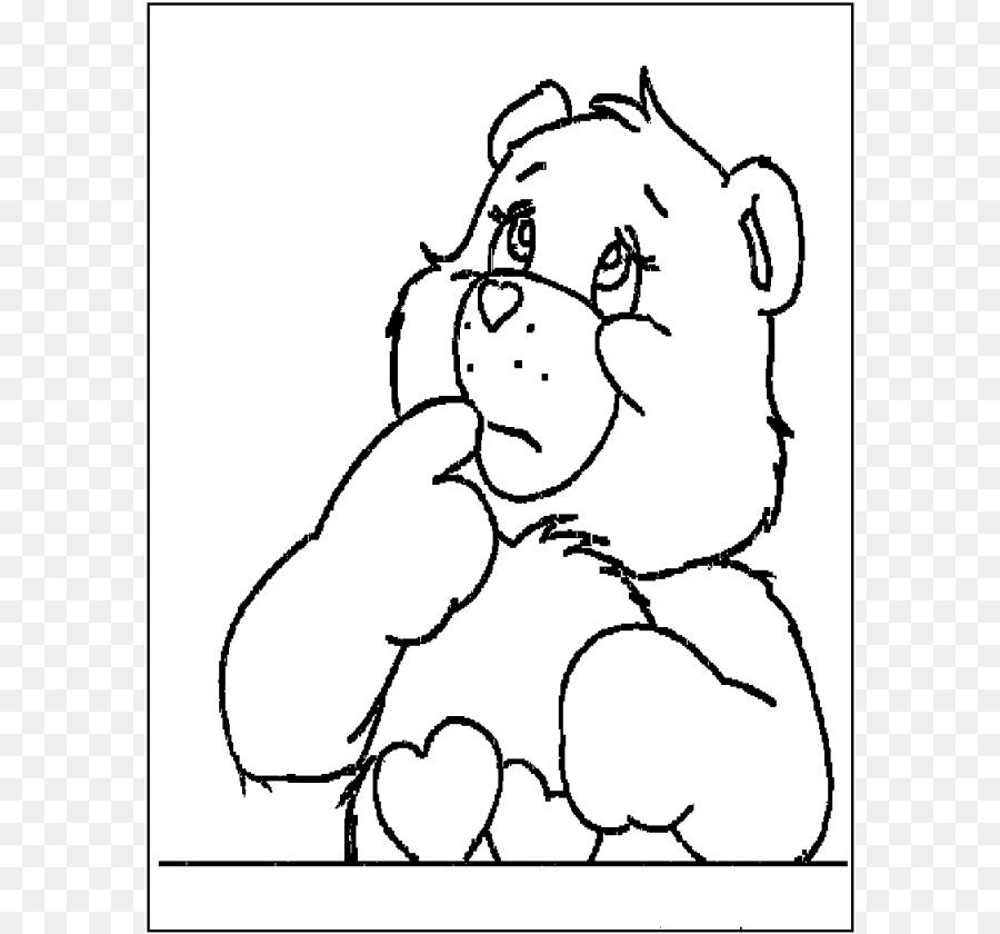 Aşk A Lot Ayı Funshine Bear Bakım Boyama Kitabı Ayı Tezahürat