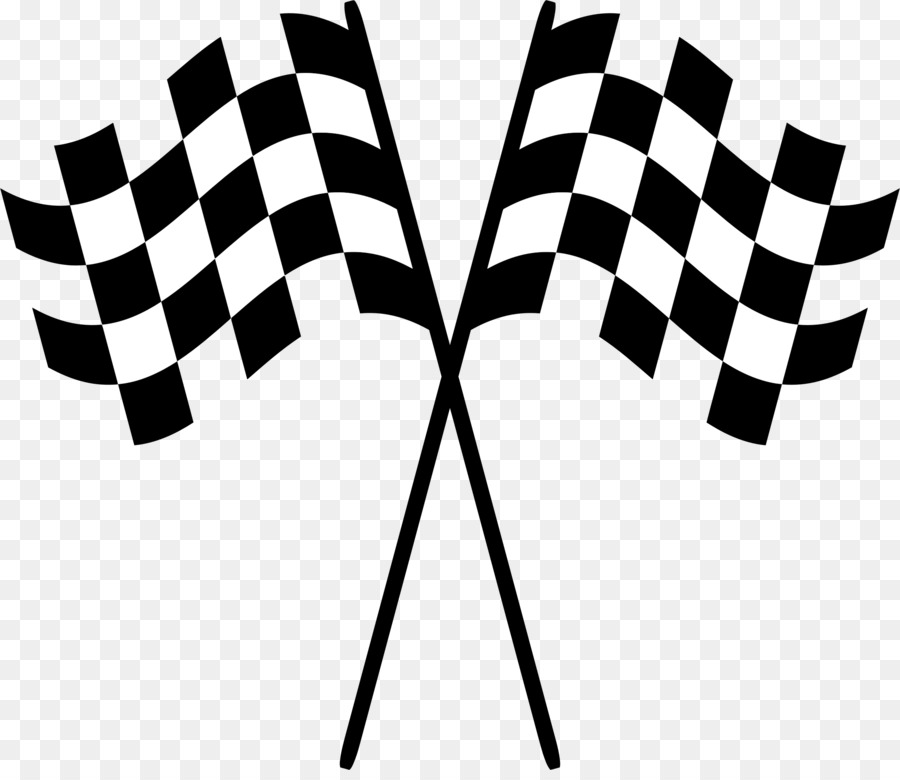 racing flags check clip art - race transparent background png download - 2284 1954