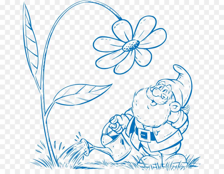 Dibujo Euclidiana del vector de Gnome Clip art - Vector de dibujo de ...