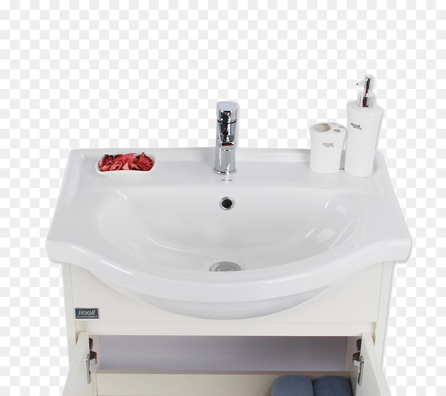 Sink Bathroom Tap Simple White Washbasin
