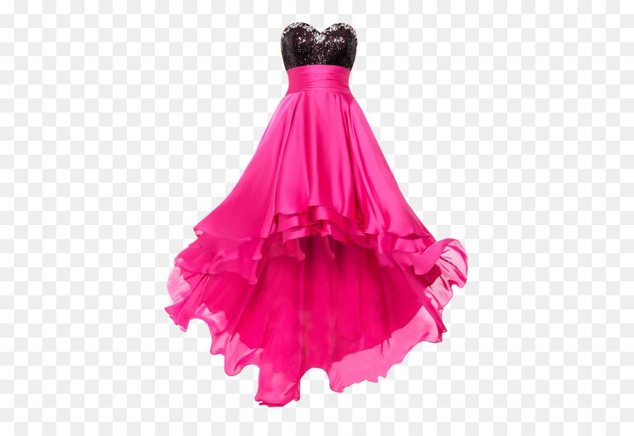 Vestido de novia de color Rosa Poco negro vestido de fiesta de ...