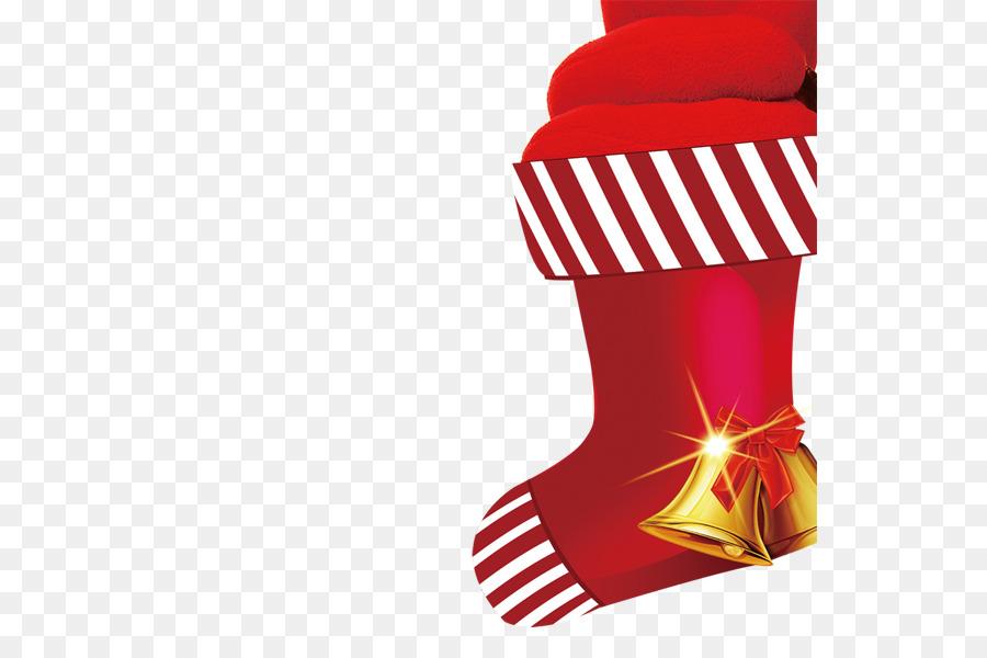 Weihnachten Santa Claus Geschenk-Strumpfwaren - Red Christmas Socken ...