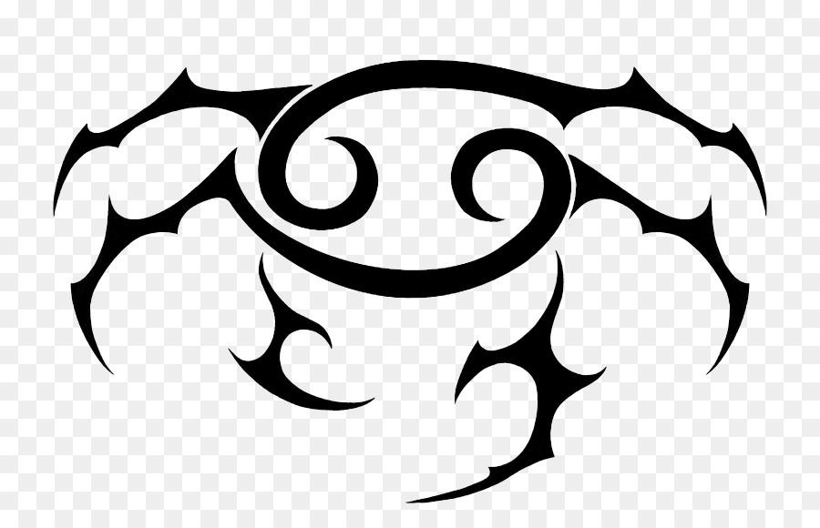 Cancer Zodiac Astrological Sign Tattoo Cancer Zodiac Symbol Png