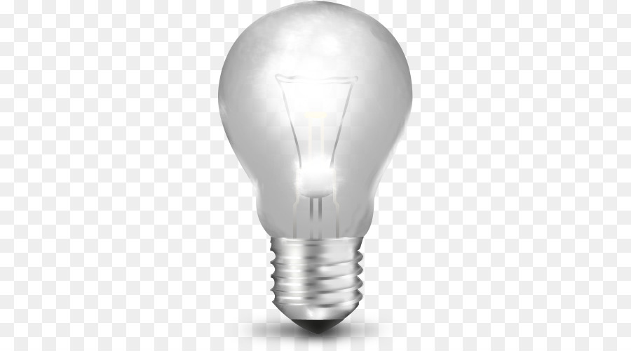 Incandescent Light Bulb Lighting Icon Bulb Off Png Transparent