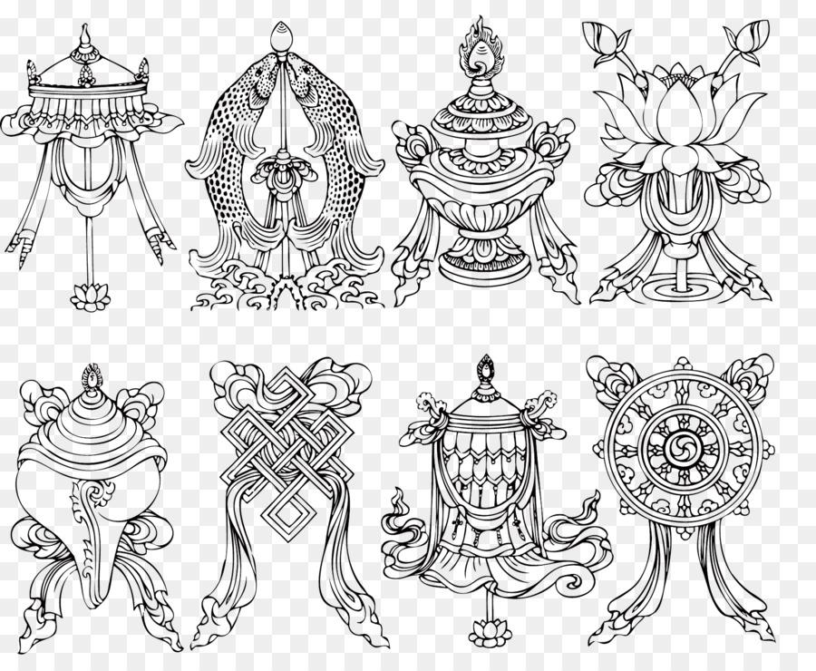 Buddhist Symbolism Buddhism Tattoo Ashtamangala Buddhism Weapons