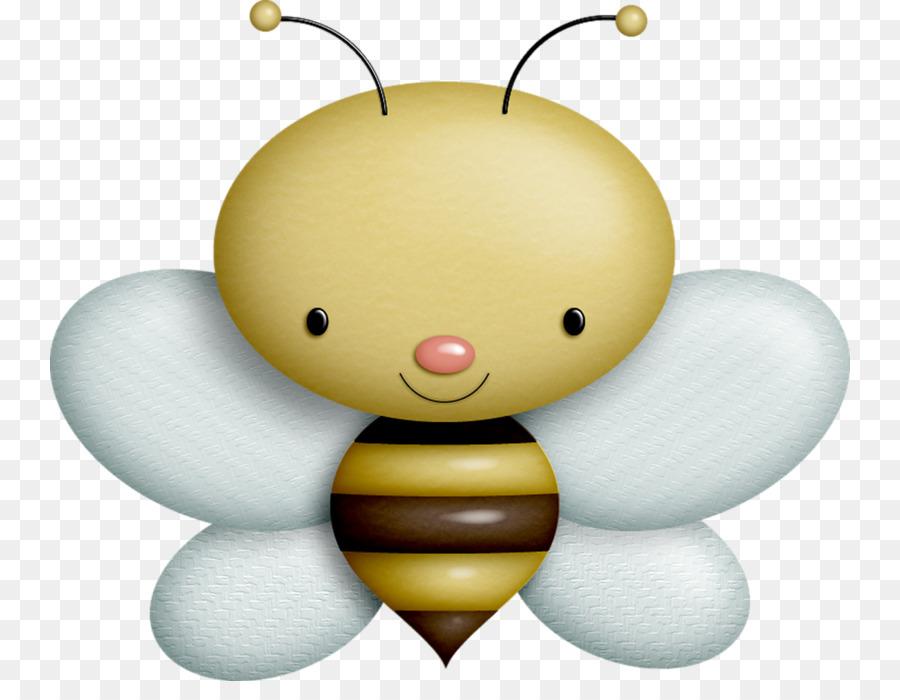 Bee Kertas Gambar Clip Art Sedikit Lucu Kartun Lebah Unduh Lebah