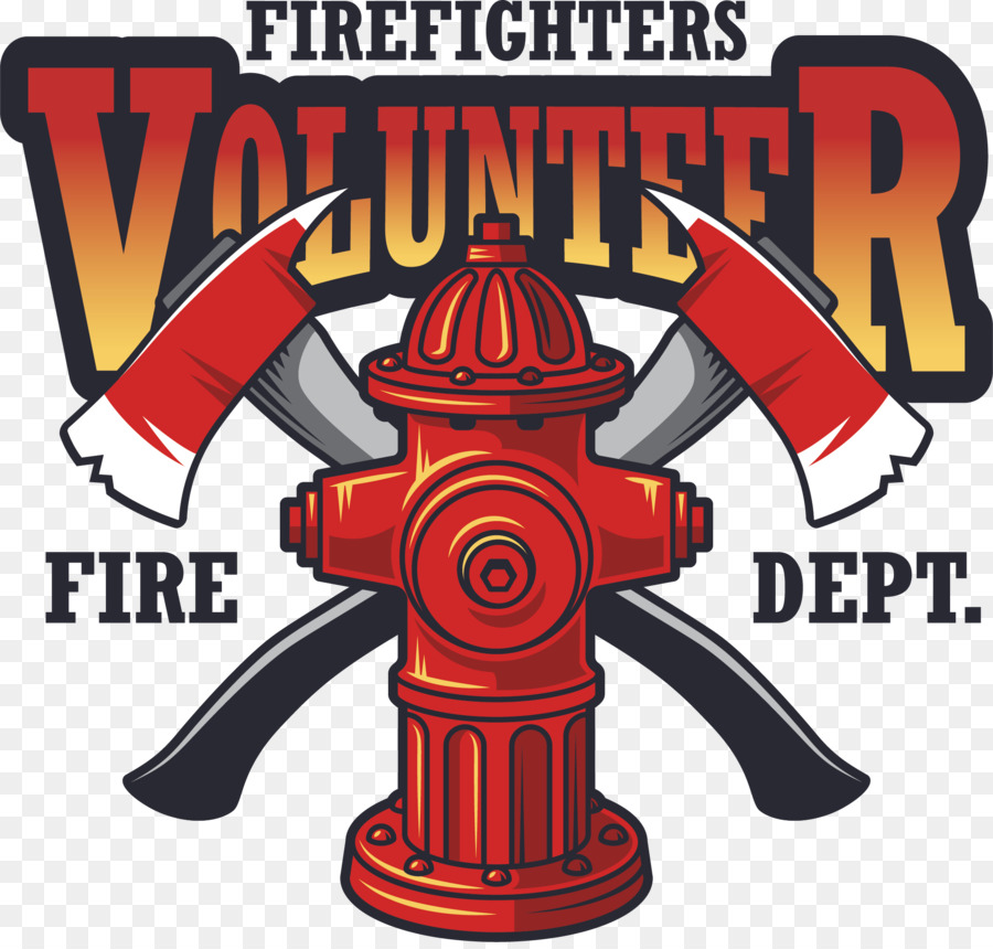 Completely new Firefighter Logo Fire hydrant Fire department - Vector fire  EL02