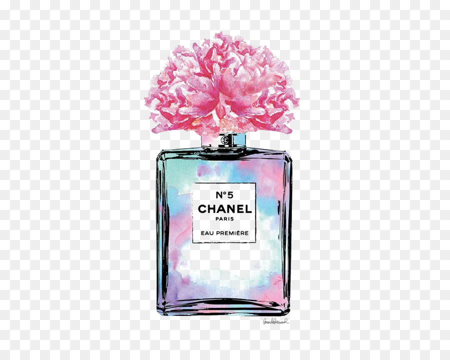 Chanel No 5 Perfume Fashion Louis Vuitton Zeichnung Parfüm Png