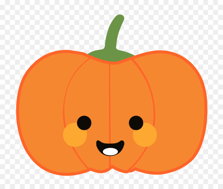 Pumpkin Calabaza Cartoon Vegetable Cartoon Smiley Pumpkin Png - Calabazas-animadas