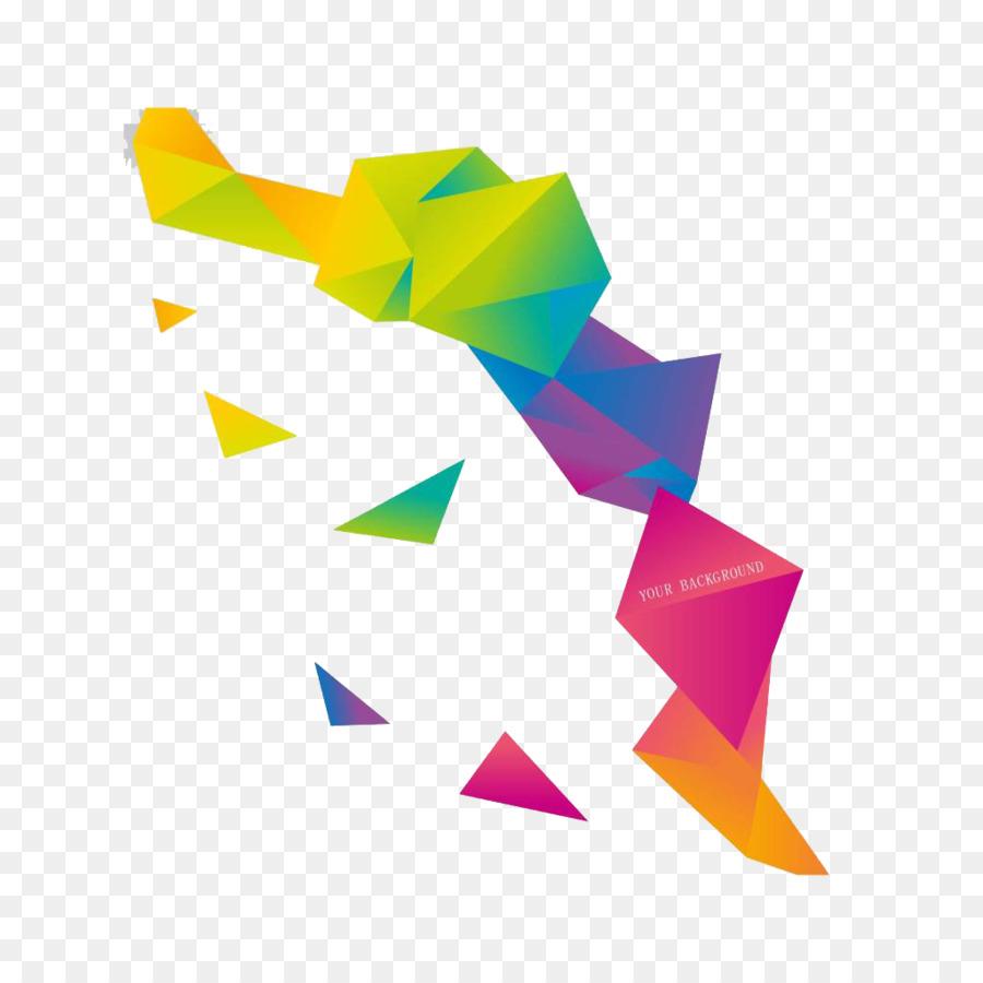 Origami Euclidean Vector