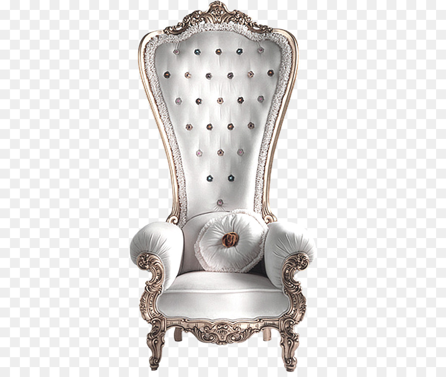 Wing Chair Couch Furniture Rocking Chair   White Queen Throne