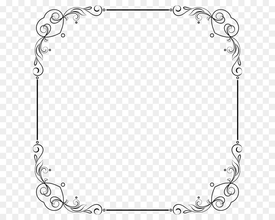 Pixel Image resolution Clip art - White Border Frame PNG Free ...