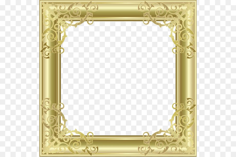 Bilderrahmen Clip-art - Gold Border Frame PNG-Bild png herunterladen ...