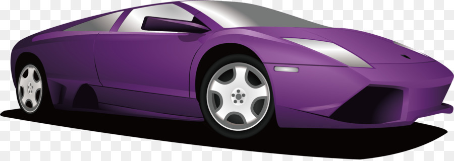 Sports Car Lamborghini Purple Lamborghini Png Download 1830 644