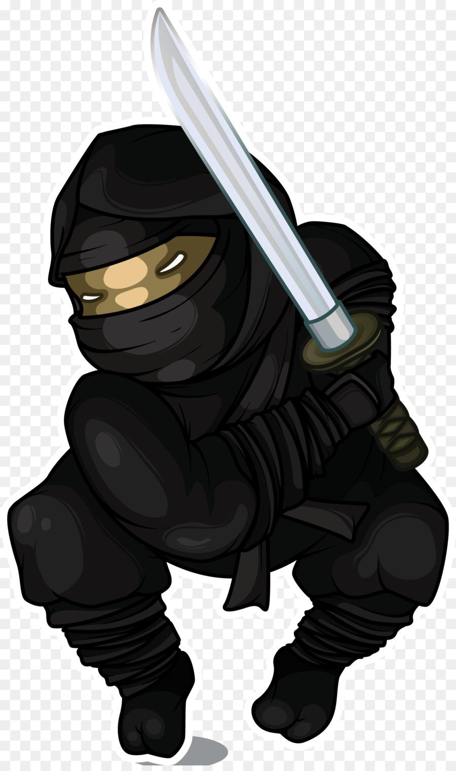 Japonés Ninja Ilustración De Dibujos Animados - Dibujos animados ...