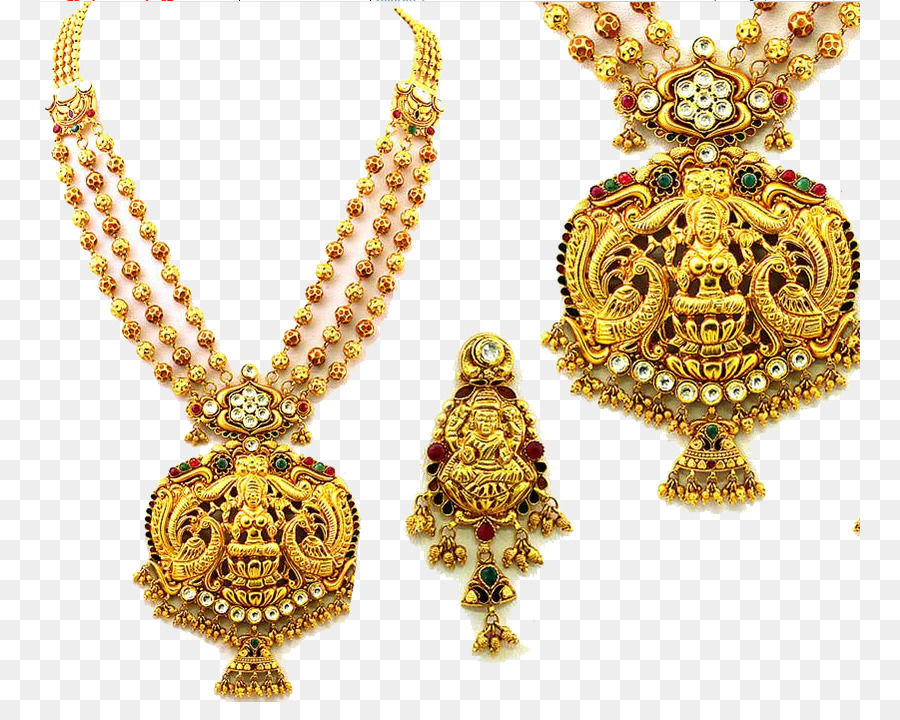 south india jewellery earring necklace jewelry design