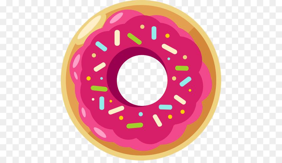 Doughnut Euclidean Vector Icon A Pink Donut Png Download