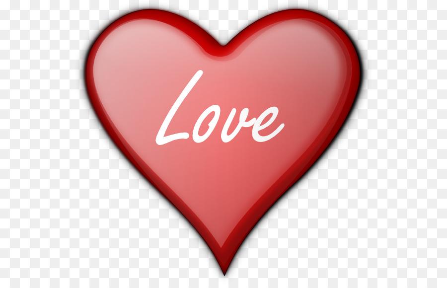 Heart Love Clip art - Art Love Cliparts png download - 600*575 - Free Transparent png Download.