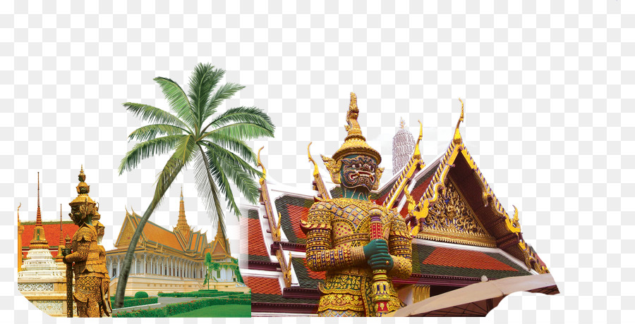 Thailand Temple Icon Southeast Asia Tourist Attractions