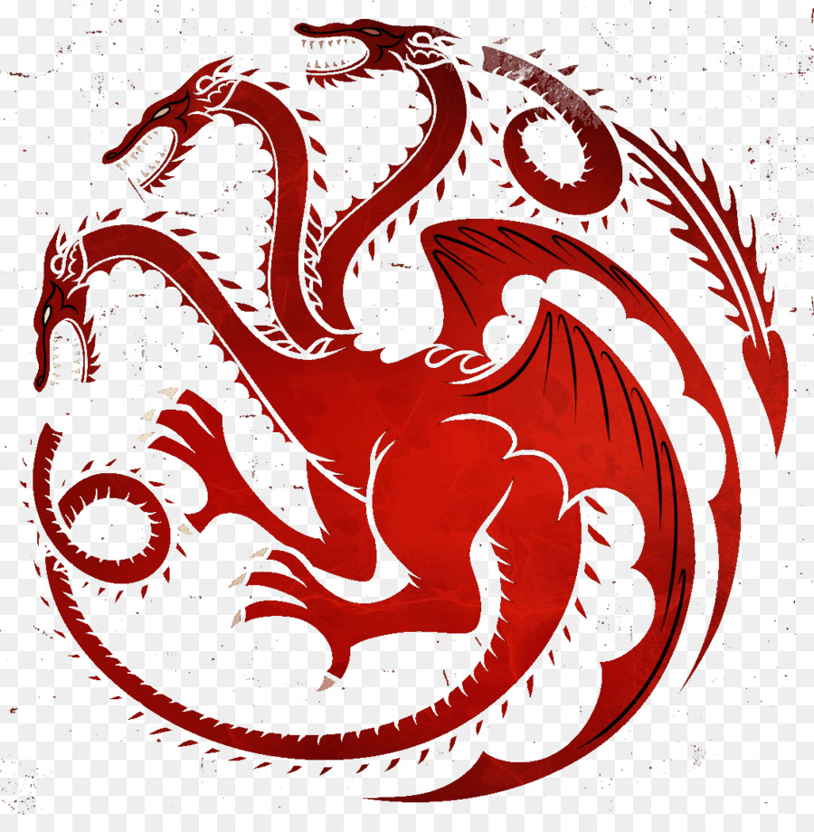 Daenerys Targaryen House Targaryen Robert Baratheon Eddard Stark   House  Targaryen PNG Image