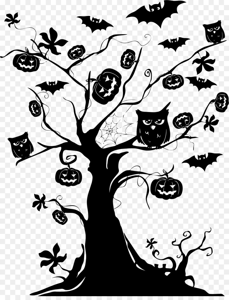 the halloween tree clip art halloween tree transparent png png rh kisspng com Creepy Tree Clip Art Halloween Pumpkin Clip Art
