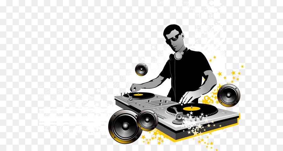 Disc Jockey Mischpult Dj Mixer Nachtclub Coole Dj Charakter Png