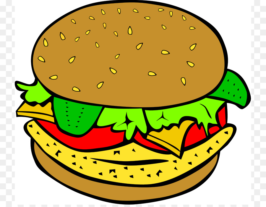 hamburger cheeseburger chicken sandwich veggie burger clip art rh kisspng com