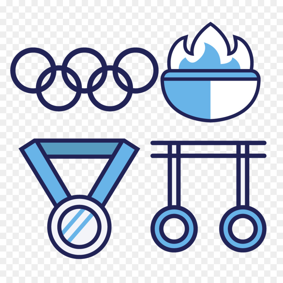 Olympic Games Olympic Symbols Euclidean Vector Clip Art Physical