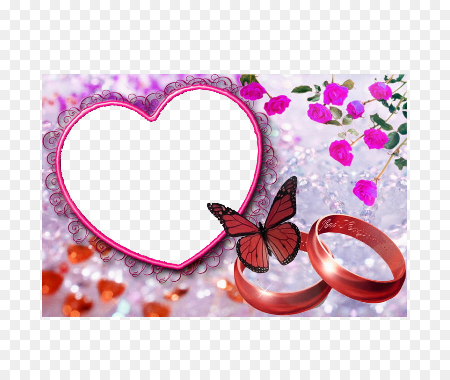 Love Picture Frame Marriage Love Frame Png Download 750750