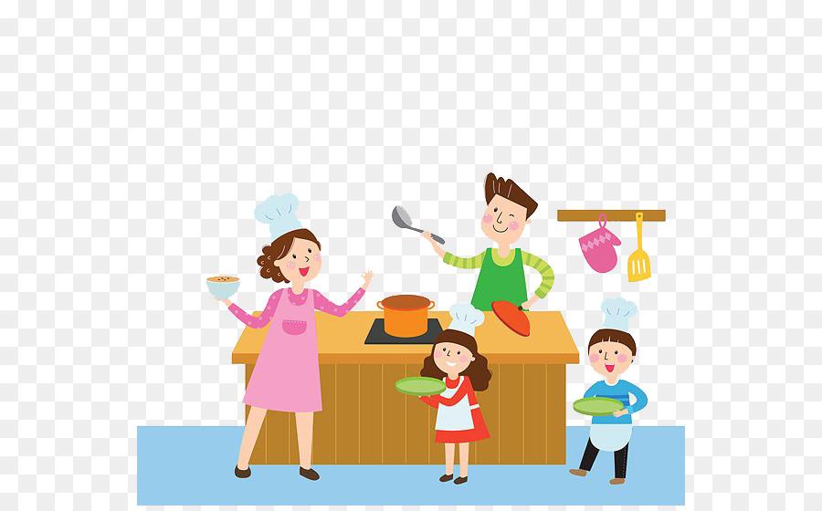 parent child mother clip art parents cook png download