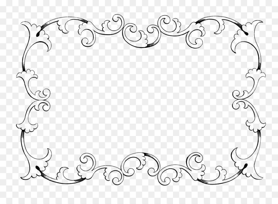 Picture Frame Ornament Clip Art