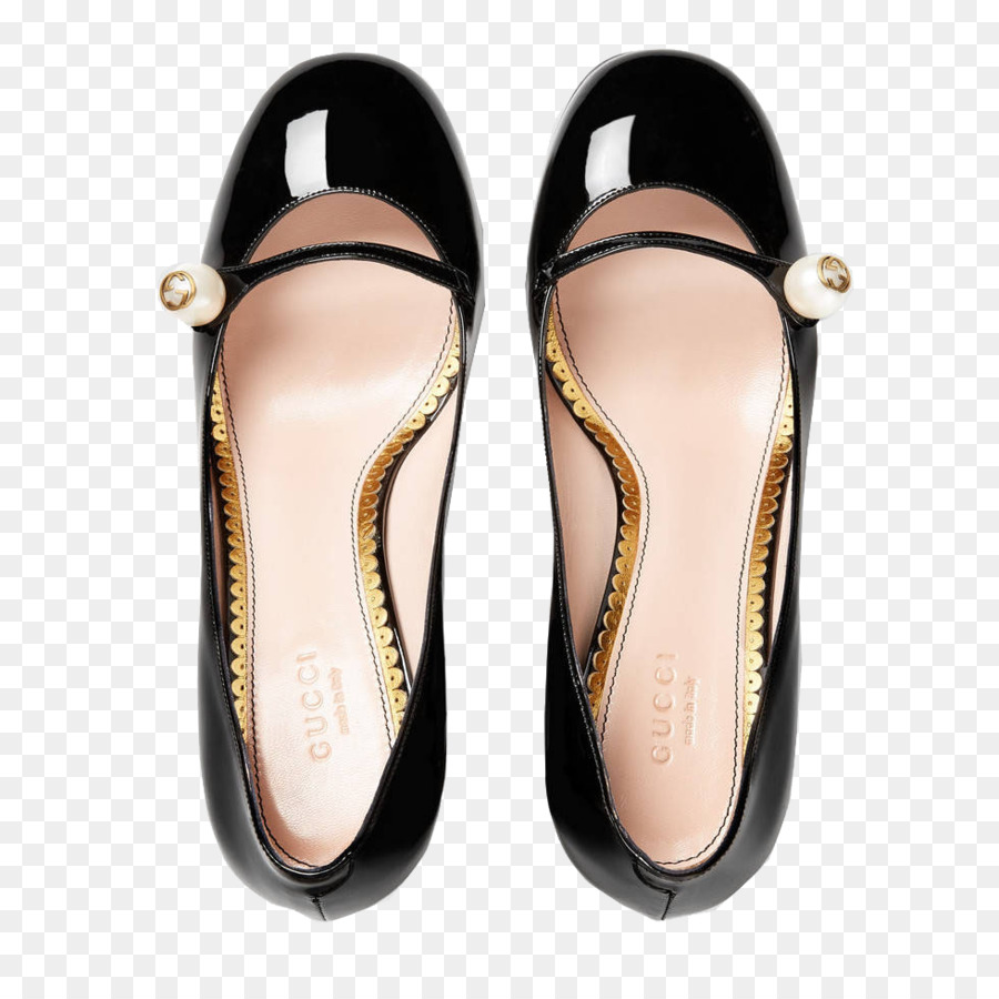 8cbfb320d7a394 Gucci Leather High-heeled footwear Slipper Shoe - Gucci heels Pearl ...