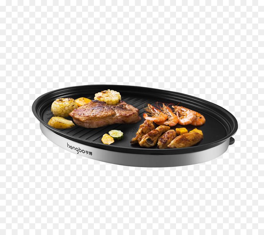 Barbecue Teppanyaki Oven Kebab Electricity - Korean barbecue grill ...