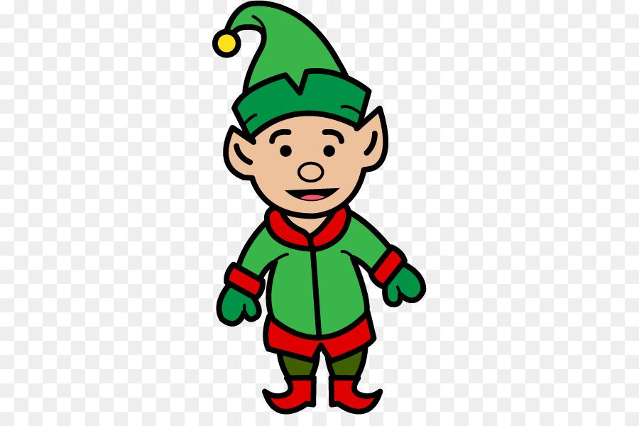 The Elf On Shelf Santa Claus Clip Art