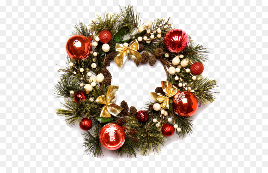 Wreath christmas garland clip art christmas wreath png image png