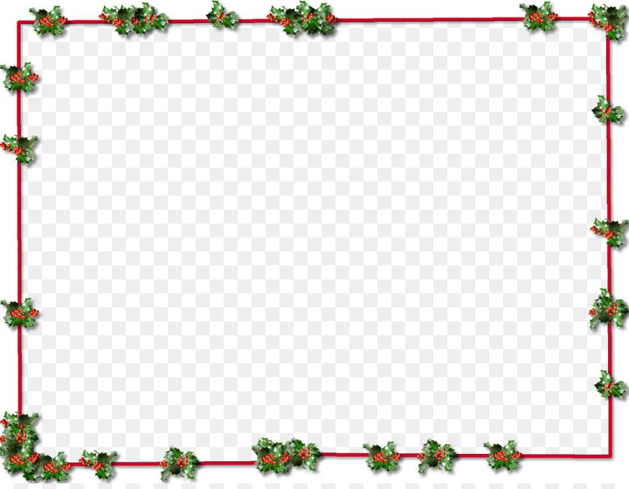 christmas clip art christmas border png transparent picture - Christmas Transparent