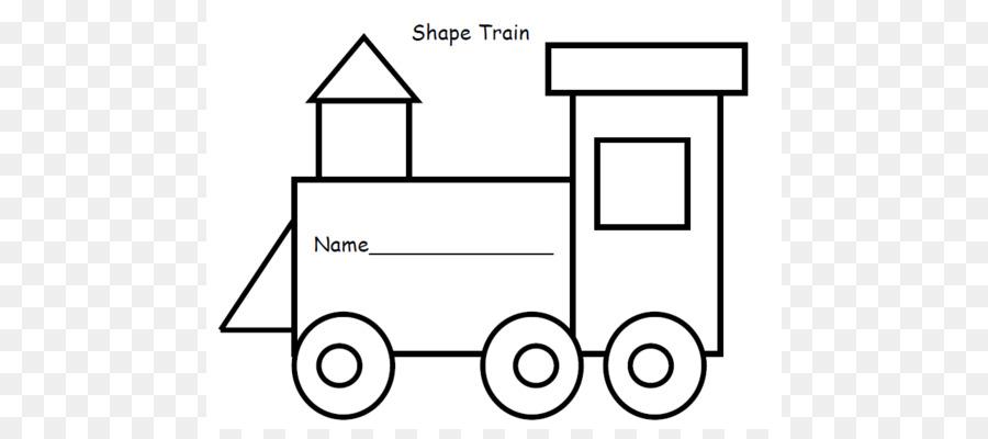 Tren Demiryolu Taşıma şekli şablonu Okul öncesi Tren Anahat 524