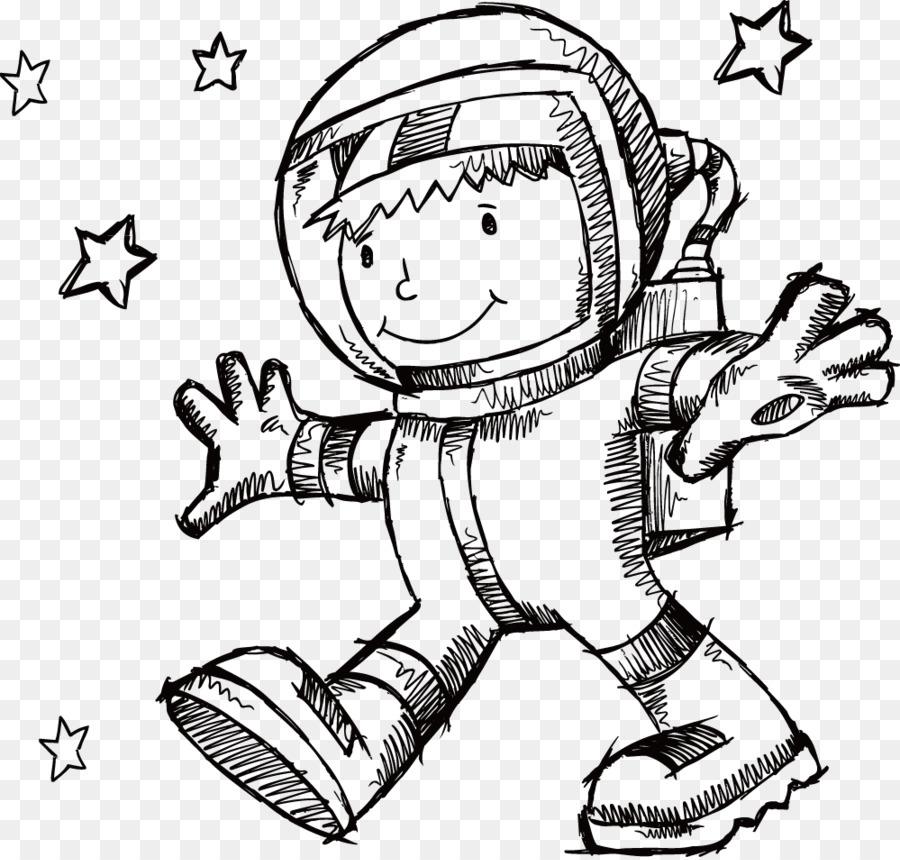 Libro para colorear el espacio Exterior de la Nave espacial del ...