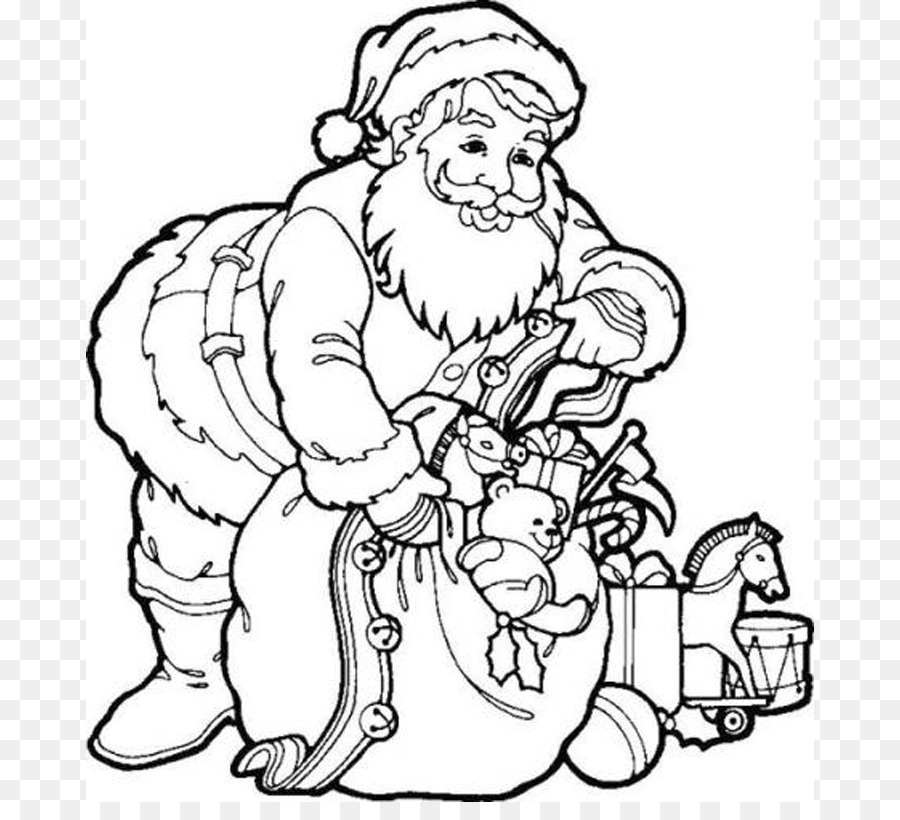 santa claus coloring book father christmas child father christmas pictures to colour
