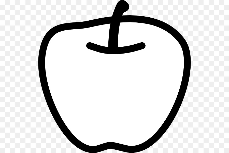 Black And White Apple Clip Art White Apple Cliparts Png Download