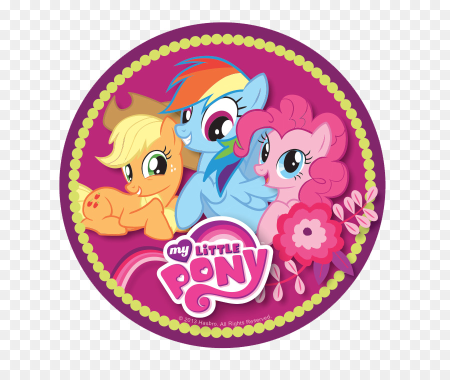Birthday Cake Icing Cupcake Pony My Little Pony Png File Png
