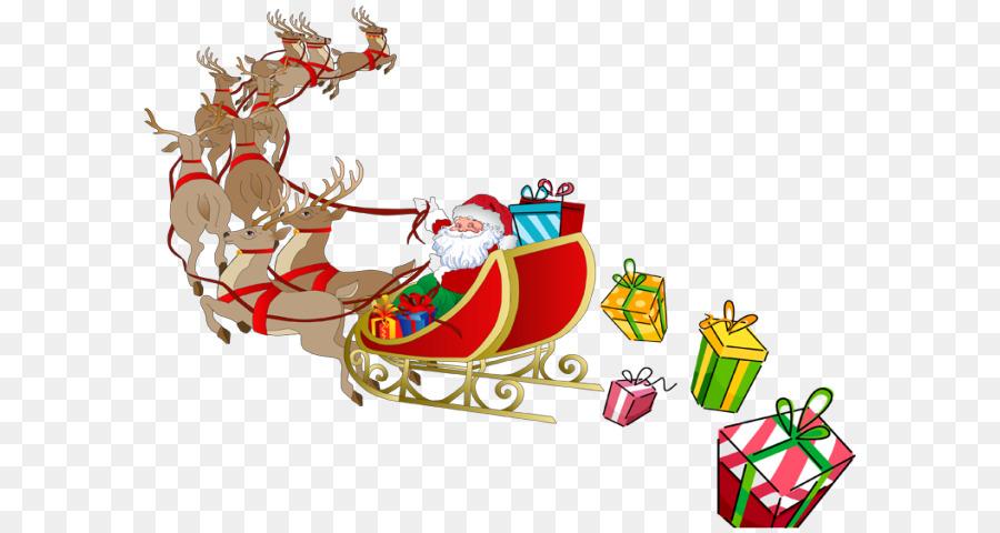 santa claus rudolph reindeer sled clip art sleigh png hd png rh kisspng com santa sleigh flying clipart santa sleigh clipart free