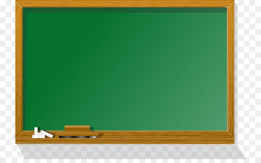 Blackboard Bulletin board Whiteboard Green Clip art - White Board ...