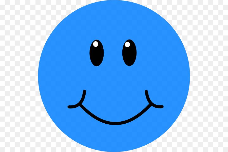 Smiley Emoticon Face Clip Art Blue Sad Smileys Png Download 600