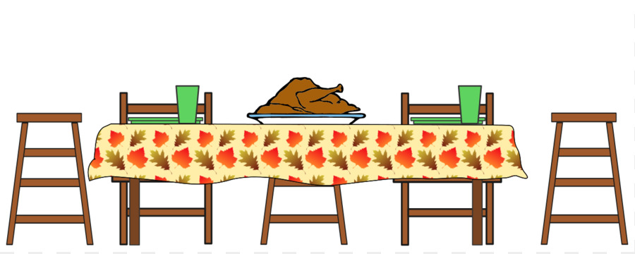 table turkey thanksgiving dinner clip art cartoon turkey dinner rh kisspng com dinner table clipart images thanksgiving dinner table clipart