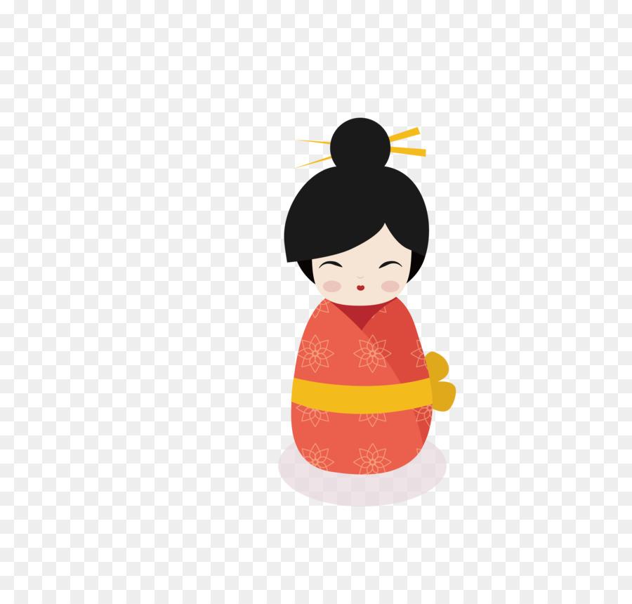Japonesa De Año Nuevo Vietnam Del Año Nuevo Lunar - Kimono Doll ...