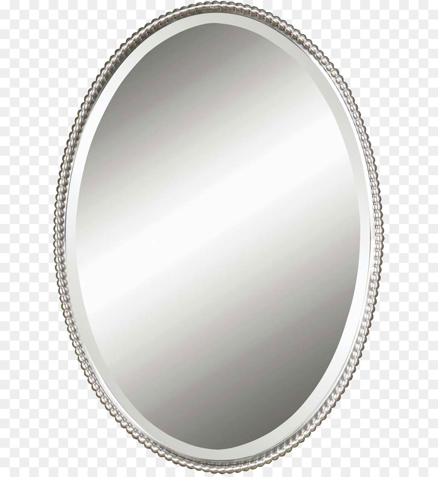 Mirror Wall Light Silver Oval Png Hd