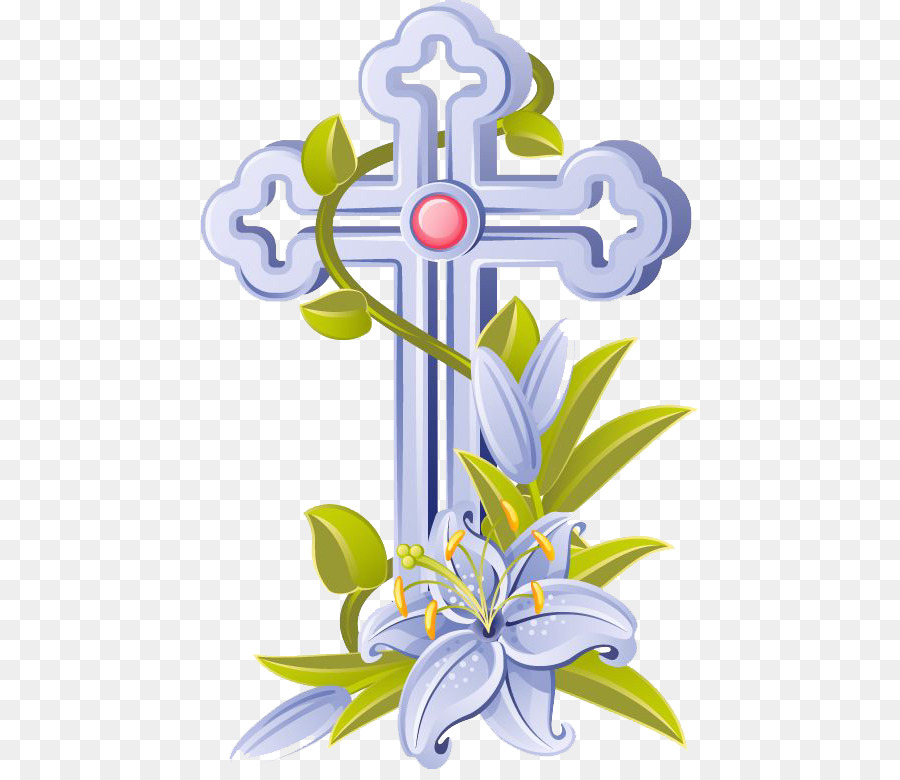 easter catholic church cross paschal candle clip art